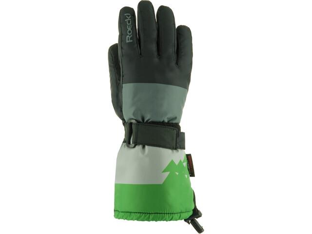 Roeckl Arlberg Gloves Barn black/green